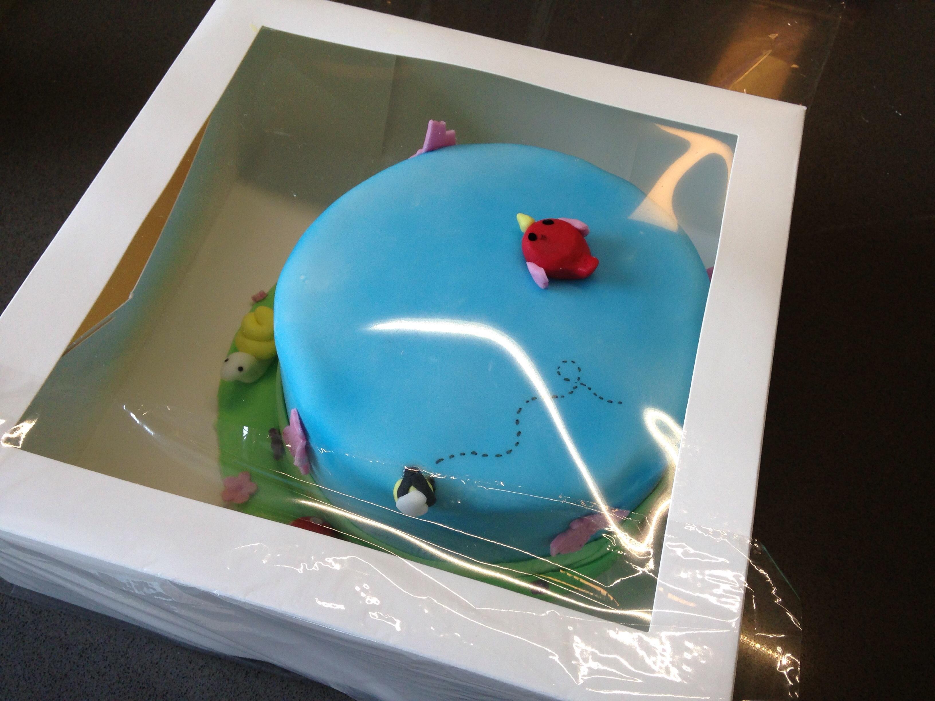 Dekorierte Torte Einfrieren Backen Mit Bakeria Ch