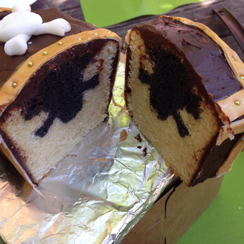 Doppelt Gebackener Kuchen Backen Mit Bakeria Ch