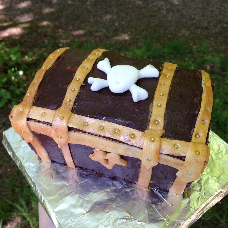 Schatztruhe Torte Backen Mit Bakeria Ch
