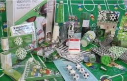 Fussball Backzubehör und Fussballparty Gadgets
