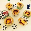 Fussball-Cupcakes